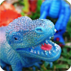 Saturday Six: Dinosaurs in the Grass