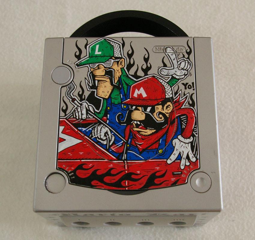 Gamecube Mario Kart