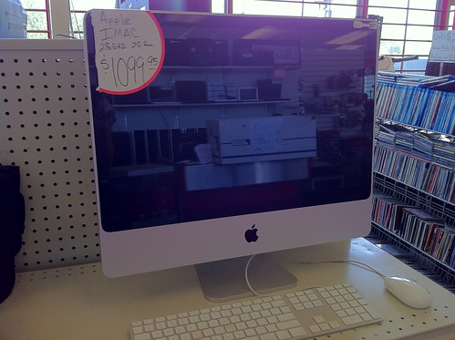 iMac Computer in an OKC Pawn Shop