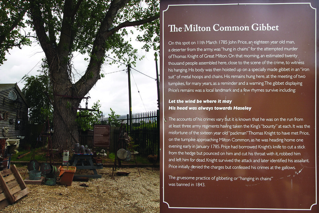 MILTON COMMON GIBBET