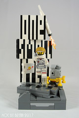 The Pioneer (drillerbryan) Tags: hklug lego moc 15 series15 collectableminifigures astronaut