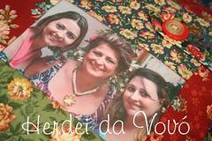 Herdei da Vov (Herdei da Vov) Tags: familia foto artesanato artesanal craft pillow patch patchwork almofada manualidades tecido criatividade