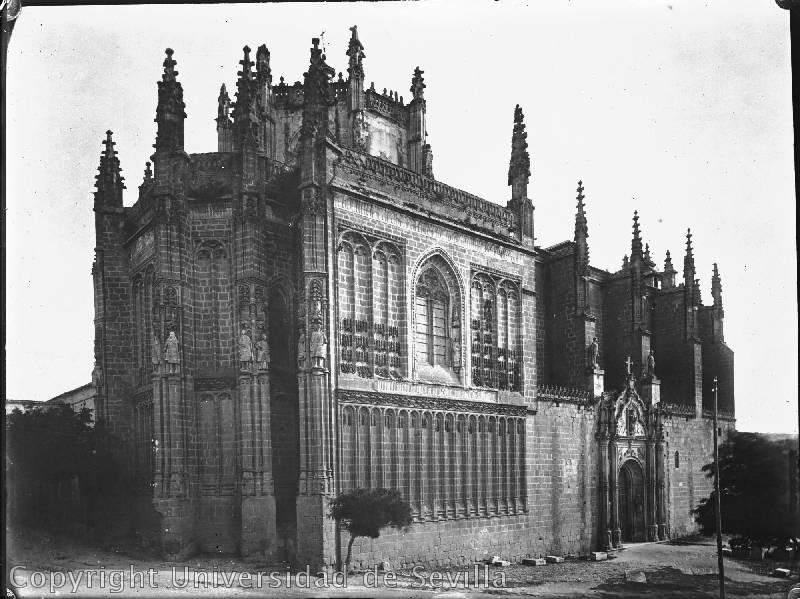 San Juan de Los Reyes. Foto de  Luis Jiménez Placer tomada el 11-7-1923. Fototeca universidad de sevilla