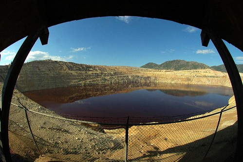 Berkeley Pit, ate up several neighborhoods, and the beautiful Columbia Gardens