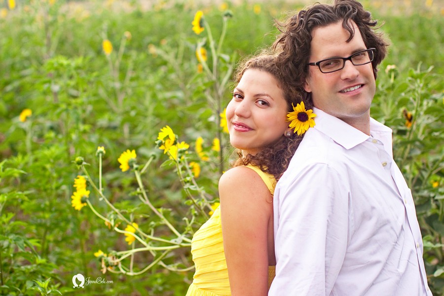 engagementsunflowers