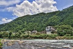 郡上八幡の長良川