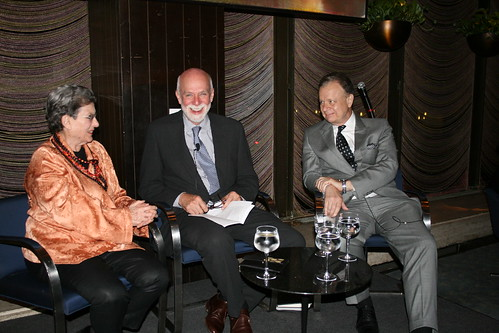 Phyllis Lambert, Richard Armstrong, and Martin Filler.
