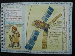 SMOS satellite (reindeer rob) Tags: pilgrim smos sketchpostcards hisbestlovedbook