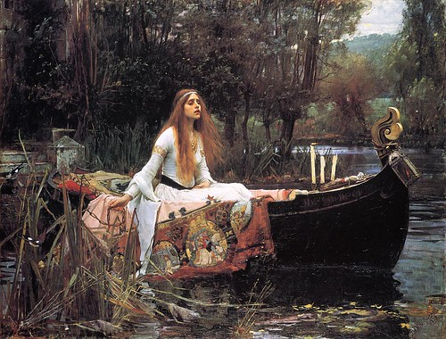 The Lady of Shalott Waterhouse