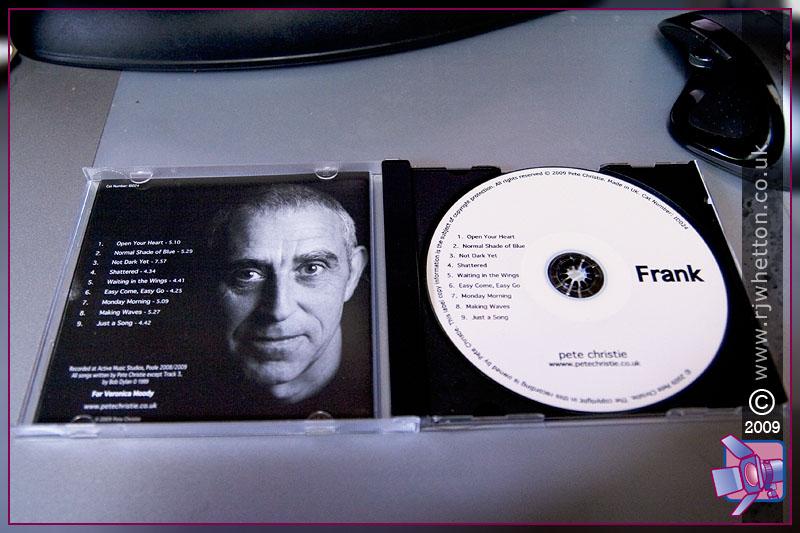 Pete Christie - Frank, Album