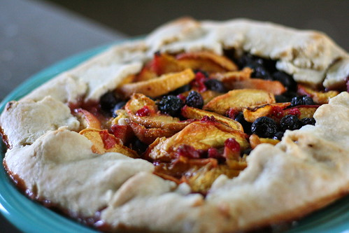 Rustic Summer Fruit Tart