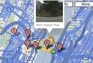 George Washington Bridge Google Maps