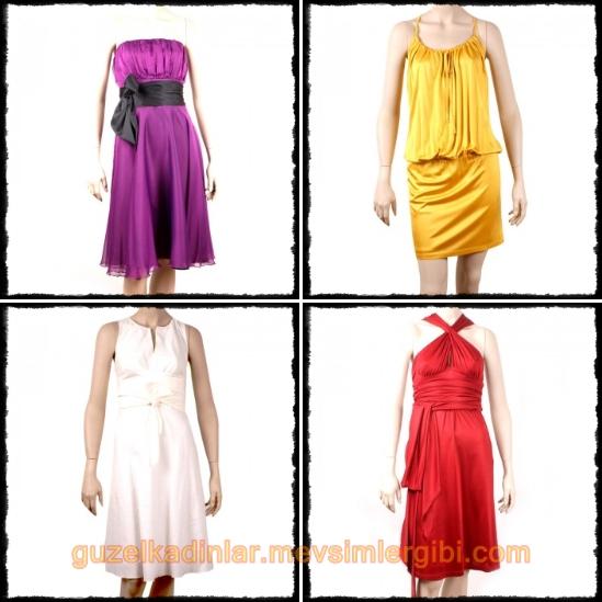 spazio kısa elbiseler modelleri