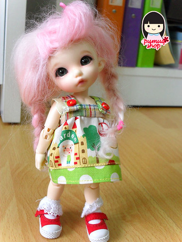 amusement park (green) Dress for lati yellow puki fee wonder frog by you.