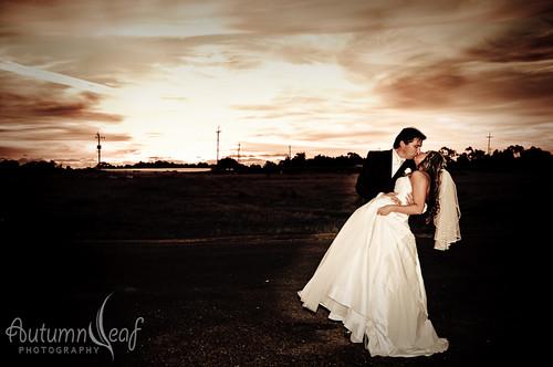 Mandi and Pierre - Sunset Romance