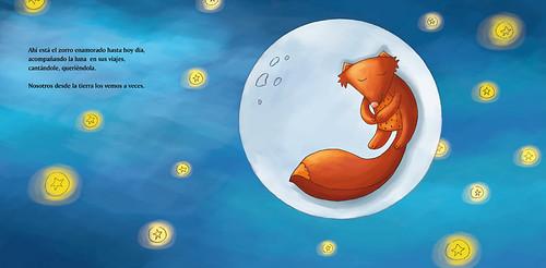 El zorro enamorado de la luna