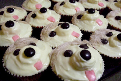 Easy Dog Cup Cake With Sweet Potato