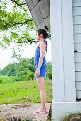 (swanky) Tags: portrait people woman cute girl beauty canon asian eos model asia pretty taiwan babe   2009 taiwanese   dcview  mikako   mikako1984   5dmarkii 5d2 5dmark2