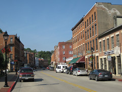 Neverending Shops on Main Street (puroticorico) Tags: history tourism home nature beauty shop rural river mississippi town store vineyard illinois mainstreet downtown wine grant victorian slide tourist hills souvenir past fever galena botique