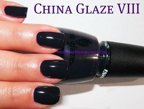 China Glaze VIII