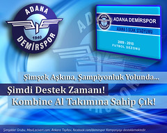 Adana Demirspor 2009-2010 Kombine Bilet