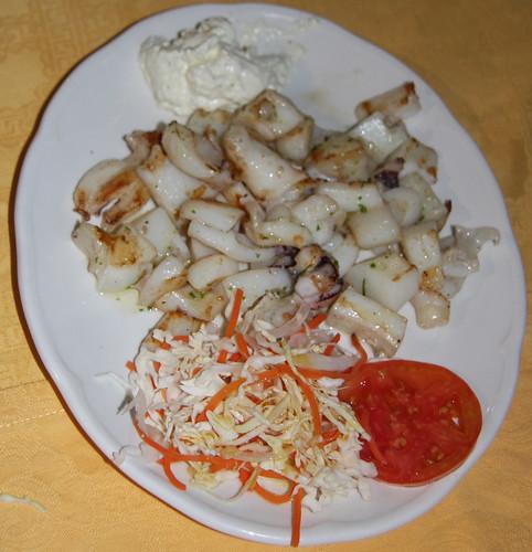 Cuttlefish and Garlic Mayo