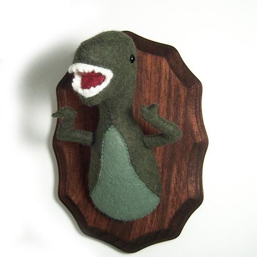 T-Rex 2 Feltidermy