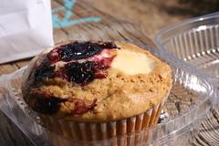 Ollalieberry & Cheese Muffin