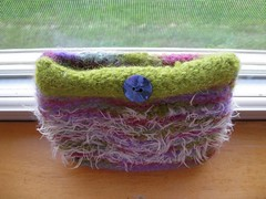 Felted clutch 1