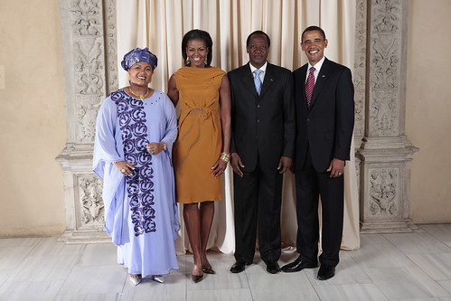 President and First Lady of Burkina Faso