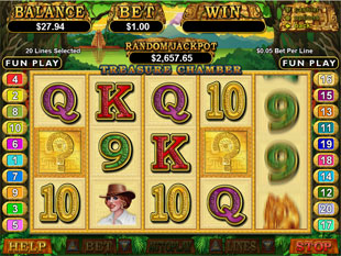 Treasure Chamber slot game online review