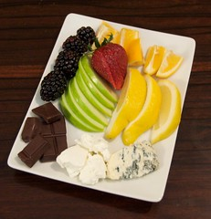 Miracle berry tasting plate.