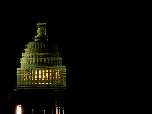 Reflection of the capitol