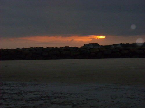 beach sunrise, Dennis, MA