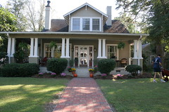 Front of house (Libby's World) Tags: house northcarolina craftsman bungalow goldsboro sjafb seymourjohnsonairforcebase