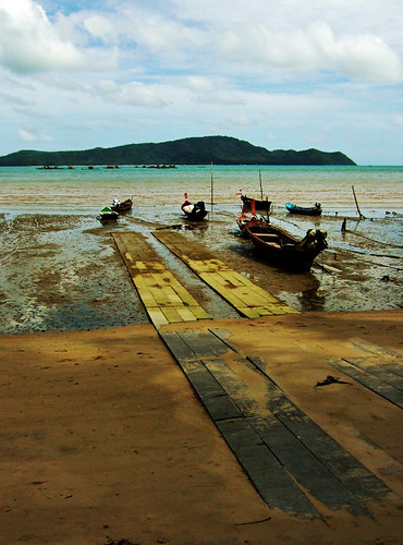 Low tide at Palai Bay, Phuket