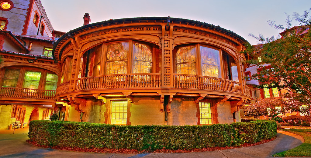 Flagler College Sunset-Dining Hall