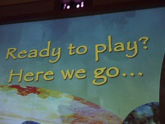 Ready to Play? (in line @ Soarin')