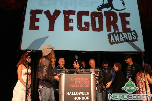 3999850042 61541a6550 Rob Zombie And Rick Baker At The Chiller Eyegore Awards