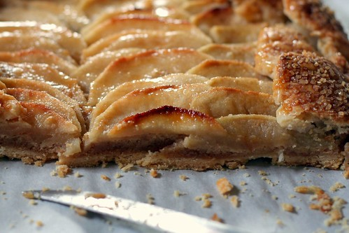 Rustic Apple Tart With Hazelnut Frangipane