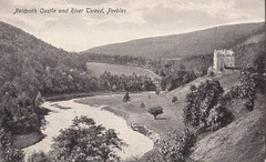 Peebles, Neidpath Castle & River Tweed