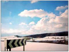195.- Erice de Iza (Raddle) Tags: voyage trip travel viaje winter espaa snow bus buses spain carretera nieve paisaje invierno autobus espagne lanscape navarre erice iza navarra autobuses nafarroa