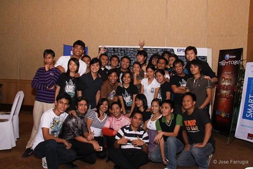 Cebu Bloggers Society at PBA 2009