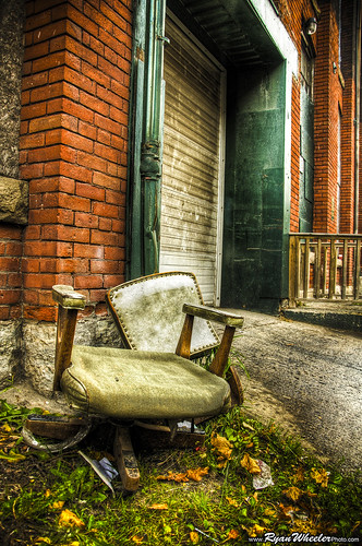 HDR Broken Chair size