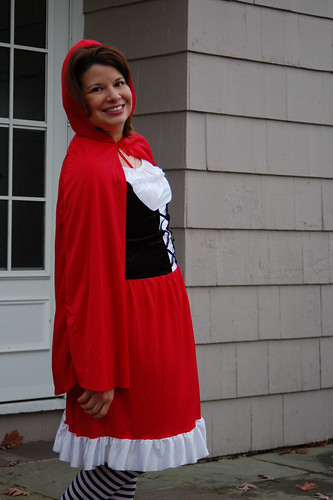 Halloween 2009:  Red Riding Hood.