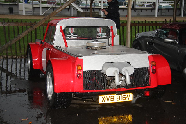 v8 minipickup rearengined exfordy goodwoodbreakfastclub november2009