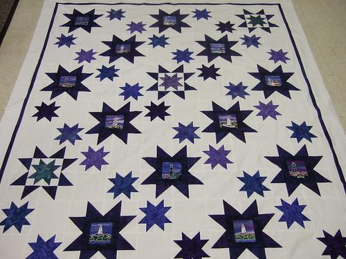 Liz's Star quilt 02