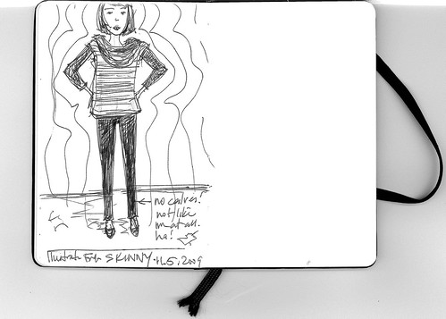 Illustration Friday: Skinny