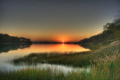 The end of a great weekend (davidlepnyc) Tags: sunset ny water wetlands marsh coldspringharbor suffolkcounty lloydharbor