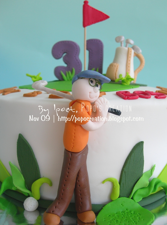Golf Cake for NOLDY